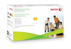 Xerox Yellow toner cartridge. Equivalent to HP CE252A. Compatible with HP Colour LaserJet CM3530 MFP, Colour LaserJet CP3525 ( 106R01585 )