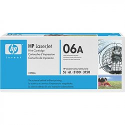 HP 06A 2500pages Black ( C3906A )