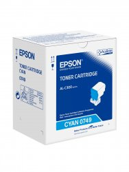 Epson Cyan Toner Cartridge 8.8k ( C13S050749 )