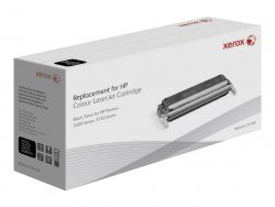 Xerox Black toner cartridge. Equivalent to HP C9730A. Compatible with HP Colour LaserJet 5500, Colour LaserJet 5550 ( 003R99721 )
