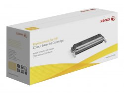 Xerox Yellow toner cartridge. Equivalent to HP C9732A. Compatible with HP Colour LaserJet 5500, Colour LaserJet 5550 ( 003R99723 )