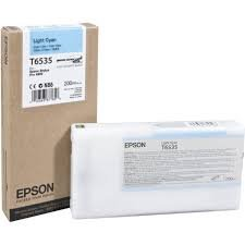 Epson T6535 Light Cyan (200ml) ink cartridge ( C13T653500 )