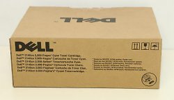 Dell 593-10373 - G534N - 586K - Toner cyan - für Multifunction Color Laser Printer 2145cn