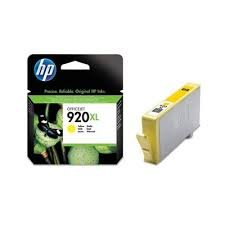 HP 920XL High Yield Yellow Original Ink Cartridge ( CD974AE )