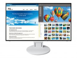 EIZO FlexScan EV2785 LED display 68,6 cm (27 Zoll) 4K Ultra HD Flach Weis ( EV2785-WT )