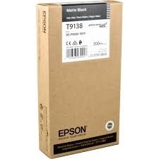 Epson T9138 Matte Black Ink Cartridge (200ml) ( C13T913800 )