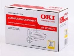 OKI 43381721 Trommel-Kit yellow