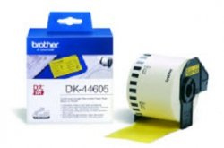 Brother DK-44605 Continuous Removable Yellow Paper Tape (62mm) ( DK-44605 )