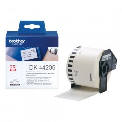 Brother White Removable Paper Tape ( DK-44205 )