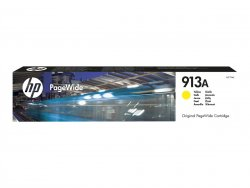 HP Inc. HP 913A - F6T79AE - Tinte gelb - für PageWide 352 MFP 377, PageWide Managed MFP P57750 P55250, PageWide Pro 452 477 552