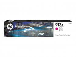 HP Inc. HP 913A - F6T78AE - Tinte magenta - für PageWide 352 MFP 377, PageWide Managed MFP P57750 P55250, PageWide Pro 452 477 552