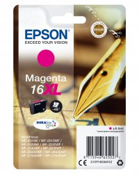 Epson 16XL - C13T16334012 - Tinte magenta - für WorkForce WF-2010 2510 2520 2530 2540 2630 2650 2660 2750 2760