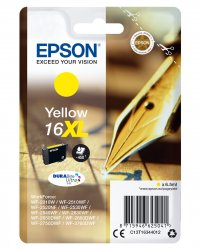 Epson 16XL - C13T16344012 - Tinte gelb - für WorkForce WF-2010 2510 2520 2530 2540 2630 2650 2660 2750 2760