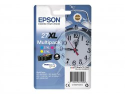 Epson Alarm clock Multipack 3-colour 27XL DURABrite Ultra Ink ( C13T27154022 )