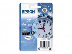 Epson Alarm clock Multipack 3-colour 27 DURABrite Ultra Ink ( C13T27054022 )