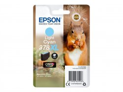 Epson 10.3 ml - XL - hell Cyan -  - Blisterverpackung ( C13T37954010 )