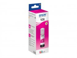 Epson 106 EcoTank Magenta ink bottle ( C13T00R340 )