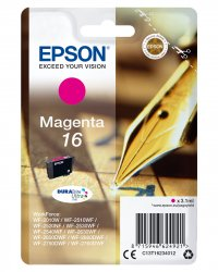 Epson 16 - C13T16234012 - Tinte magenta -     für WorkForce WF-2010 2510 2520 2530 2540 2630 2650 2660 2750 2760