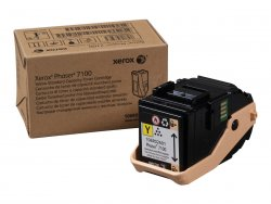 Xerox Phaser 7100 Standard Capacity Yellow Toner Cartridge (4,500 Pages) ( 106R02601 )
