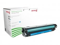 Xerox Cyan toner cartridge. Equivalent to HP CE341A. Compatible with HP Colour LaserJet M775 ( 006R03215 )