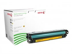Xerox Yellow toner cartridge. Equivalent to HP CE342A. Compatible with HP Colour LaserJet M775 ( 006R03216 )