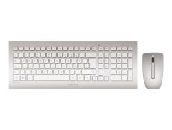 CHERRY DW 8000 keyboard RF Wireless QWERTZ German Silver,White ( JD-0310DE )