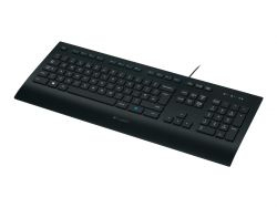 Logitech K280e keyboard USB QWERTZ German Black ( 920-008669 )