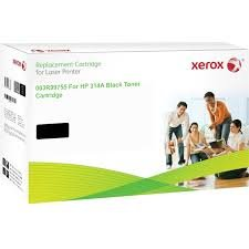 Xerox Black toner cartridge. Equivalent to HP Q7560A. Compatible with HP Colour LaserJet 2700, Colour LaserJet 3000 ( 003R99755 )