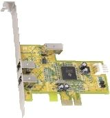 Dawicontrol DC-1394 PCIe interface cards/adapter ( DC-1394 PCIE BLISTER )