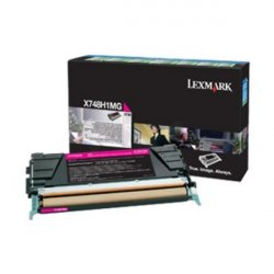 Lexmark X748H3MG toner cartridge Original Magenta 1 pc(s) ( X748H3MG )