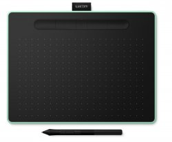 Wacom Intuos M Bluetooth graphic tablet 2540 lpi 216 x 135 mm USB/Bluetooth Black,Green ( CTL-6100WLE-N )
