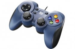 Logitech F310 Gamepad PC USB 2.0 Black,Blue ( 940-000135 )