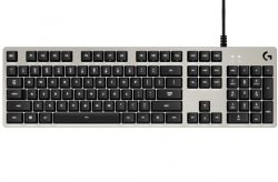 Logitech G413 keyboard USB QWERTZ German Silver ( 920-008471 )