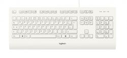 Logitech K280e keyboard USB QWERTZ German White ( 920-008319 )