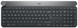 Logitech Craft keyboard RF Wireless + Bluetooth QWERTZ German Black,Grey ( 920-008496 )