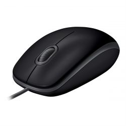 Logitech B110 mouse USB Optical 1000 DPI Ambidextrous ( 910-005508 )