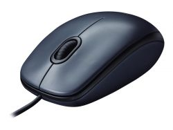 Logitech M100 USB Optical 1000DPI Ambidextrous Grey mice ( 910-005003 )