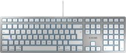CHERRY KC 6000 SLIM FOR MAC keyboard USB QWERTY US English Silver ( JK-1610US-1 )
