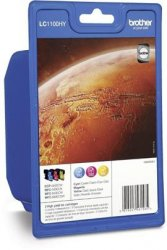 Brother LC1100HY Rainbow Pack - Hohe Ergiebigkeit ( LC1100HYRBWBPDR )