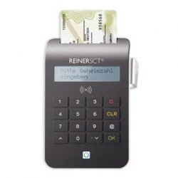 Reiner SCT cyberJack RFID komfort smart card reader Black USB 2.0 ( 2718700-000 )