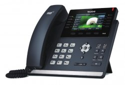 Yealink SIP-T46S IP phone Black Wired handset LCD 16 lines ( T46S )