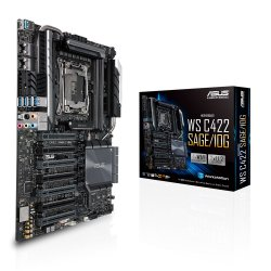 ASUS WS C422 SAGE/10G Server-/Workstation-Motherboard LGA 2066 (Socket R4) CEB Intel® C422 ( 90SW00J0-M0EAY0 )