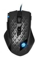 Sharkoon Drakonia Black mouse USB Laser 8200 DPI Right-hand ( 4044951013579 )