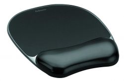 Fellowes 9112101 mouse pad Black ( 9112101 )