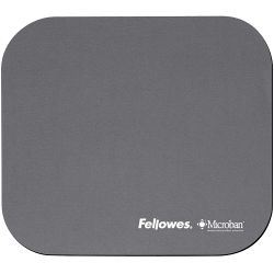 Fellowes Microban Mouse Pad Silver Silber ( 5934005 )