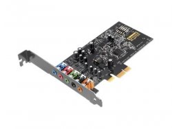 Creative Labs Sound Blaster Audigy Fx Internal 5.1channels PCI-E x1 ( 30SB157000001 )