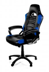 Arozzi Enzo Universal gaming chair Padded seat Black,Blue ( ENZO-BL )