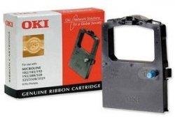 OKI 09002303 Black printer ribbon ( 09002303 )