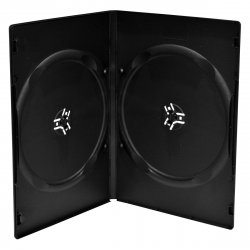 MediaRange BOX34 optical disc case DVD case 2 discs Black ( BOX34 )