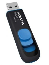 ADATA 64GB DashDrive UV128 USB flash drive USB Type-A 3.2 Gen 1 (3.1 Gen 1) Black,Blue ( AUV128-64G-RBE )